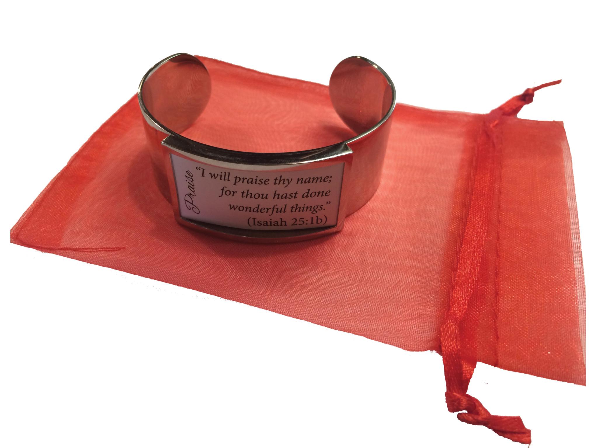 CW Scripture Bracelet
