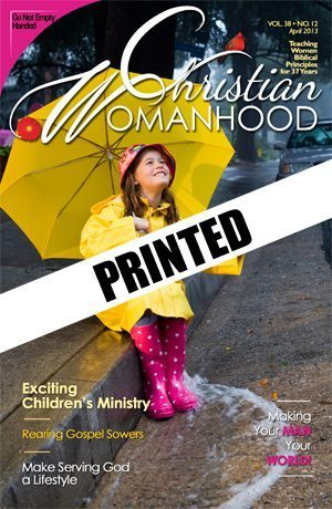 Christian Womanhood Printed Subscription