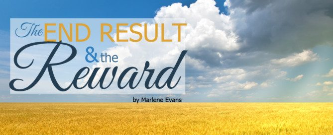 the end result and the reward marlene evans