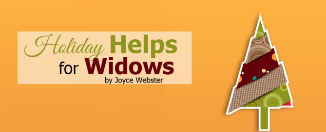 holiday helps for widows
