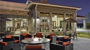 hilton garden inn patio