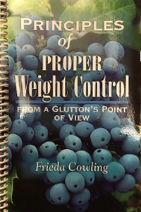 principles of proper weight control