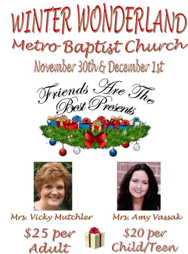 metro baptist church winter wonderland