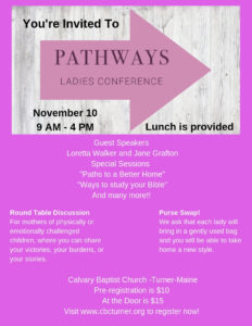 pathways ladies conference