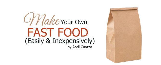 make your own fast food