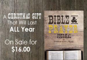 Bible and Prayer Journal Ad