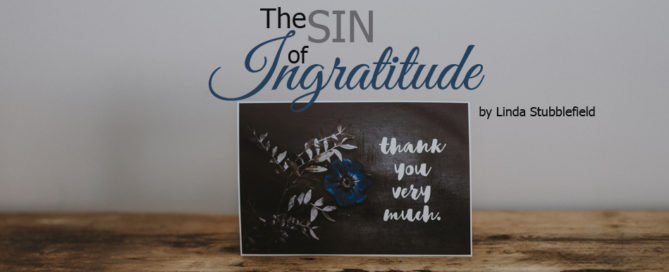 the sin of ingratitude