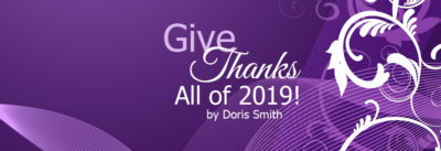 give thanks all of 2019