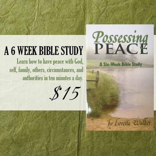 possessing peace ad