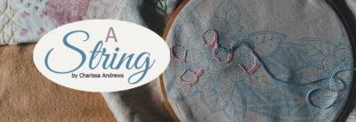 a string