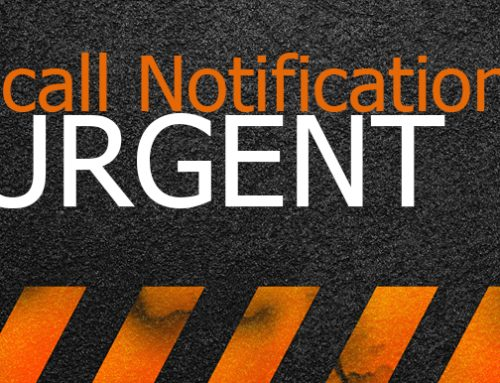 Recall Notification-URGENT