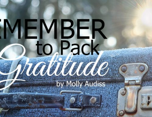 Remember to Pack Gratitude